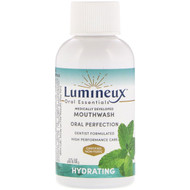3 PACK OF Lumineux Oral Essentials, Lumineux, Medically Developed Mouthwash, Hydrating, 2 fl oz (59.15 ml)