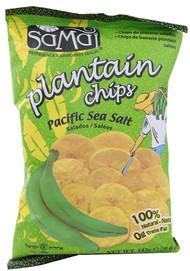 Samai, Plantain Chips,  Pacific Sea Salt - 5 oz -5 PACK