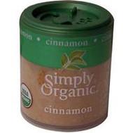 3 PACK of Simply Organic Cinnamon Powder -- 0.67 oz