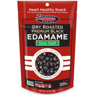 3 PACK of Seapoint Farms, Dry Roasted Premium Black Edamame, Sea Salt, 3.5 oz (99 g)