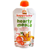 3 PACK of Nurture Inc. (Happy Baby), Organic Baby Food, Hearty Meals, Chick Chick, Stage 3, 4 oz (113 g)