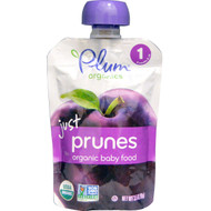 3 PACK of Plum Organics, Organic Baby Food, Stage 1, Just Prunes, 3.5 oz (99 g)