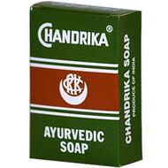 3 PACK of Herbal - Vedic, Chandrika, Ayurvedic Soap, 1 Bar, 2.64 oz (75 g)
