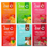 5 PACK of Ener-C, Vitamin C, Effervescent Powdered Drink Mix, Variety Pack, 6 Packets