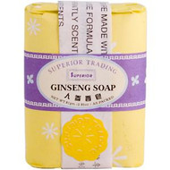 Superior Trading Company, Ginseng Soap, 2.85 oz (.81 g) Bar (5 PACK)