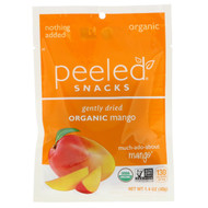 3 PACK OF Peeled Snacks, Gently Dried, Organic, Mango, 1.4 oz (40 g)