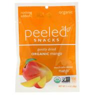 3 PACK OF Peeled Snacks, Gently Dried, Organic, Mango, 1.4 oz (40 g)