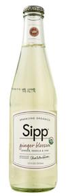 Sipp, Sparkling Organics Eco Beverage,  Ginger Blossom - 12 fl oz -5 PACK