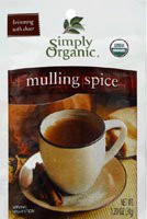 Simply Organic, Mulling Spice - 1.2 oz -5 PACK