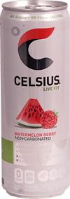 3 Pack of Celsius Live Fit Non-Carbonated Watermelon Berry - 12 fl oz