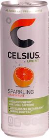 3 Pack of Celsius Live Fit Sparkling Grapefruit - 12 fl oz