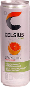 Celsius Live Fit Sparkling Grapefruit - 12 fl oz