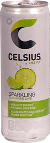 3 Pack of Celsius Live Fit Sparkling Cucumber Lime - 12 fl oz