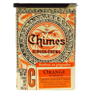 3 PACK of Chimes, Ginger Chews, Orange, 2 oz (56.7 g)