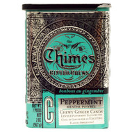 3 PACK of Chimes, Ginger Chews, Peppermint, 2 oz (56.7 g)