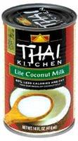 Thai Kitchen, Coconut Milk Lite - 14 fl oz -5 PACK