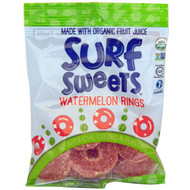 3 PACK of Surf Sweets Organic Rings Watermelon -- 2.75 oz