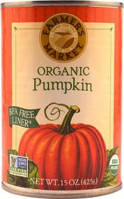 Farmers Market Organic Canned Pumpkin - 15 oz