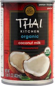 Thai Kitchen Organic Coconut Milk Unsweetened - 14 fl oz