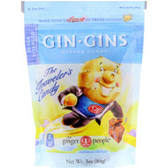 3 PACK OF The Ginger People, Gin Gins, Ginger Candy, Super Strength, 3 oz (84 g)