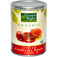 Grown Right, Organic Jellied Cranberry Sauce, 14 oz (397 g) (5 PACK)