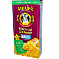 3 PACK of Annies Homegrown, Macaroni & Cheese, Classic Mild Cheddar, Less Sodium, 6 oz (170 g)