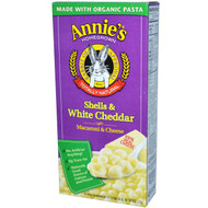 3 PACK of Annies Homegrown, Macaroni & Cheese, Shells & White Cheddar, 6 oz (170 g)
