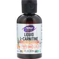 3 PACK OF Now Foods, Liquid L-Carnitine, Tropical Punch, 1000 mg, 2 fl oz (59 ml)
