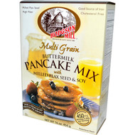 Hodgson Mill, Multi Grain Buttermilk Pancake Mix with Milled Flax Seed & Soy, 16 oz (454 g)(5 PACK)