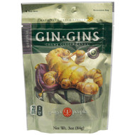 3 PACK of The Ginger People, Gin-Gins, Chewy Ginger Candy, Original, 3 oz (84 g)