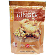 3 PACK of The Ginger People, Gin-Gins, Crystallized Ginger, 3.5 oz (100 g)