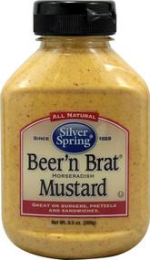 Silver-Spring-Beer-N-Brat-Mustard-9-5-Oz -5 PACK