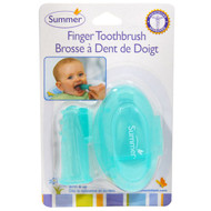 3 PACK OF Summer Infant, Finger Toothbrush with Case