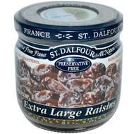 3 PACK of St. Dalfour, Extra Large Raisins, 7 oz (200 g)
