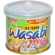 3 PACK OF Hime, Powdered Sushi Wasabi, 0.88 oz (25 g)