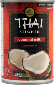 Thai Kitchen, Coconut Milk Unsweetened - 13.66 fl oz -5 PACK