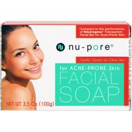 3 PACK OF Nu-Pore, Facial Soap, for Acne-Prone Skin, 3.5 oz (100 g)