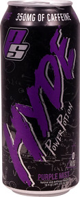 3 Pack of Pro Supps HYDE Powder Potion RTD Purple Mist - 16 fl oz