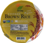 Go Go Rice, Organic Cooked Brown Rice - 7.4 oz -5 PACK