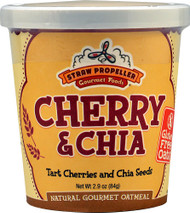 Straw Propeller, Gourmet Foods Oatmeal Cereal,  Cherry & Chia - 2.9 oz -5 PACK