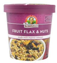 Dr. McDougalls, Organic Oatmeal,  Fruit Flax & Nuts, - 2.7 oz -5 PACK