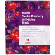 3 PACK OF Leaders, Tundra Cranberry Anti-Aging Mask, 1 Mask