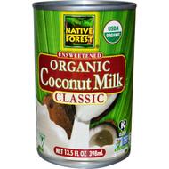 Native Forest Organic Coconut Milk Unsweetened - 13.5 fl oz