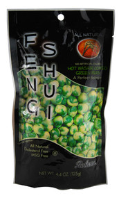Roland, Feng Shui Coated Green Peas,  Hot Wasabi - 4.4 oz -5 PACK