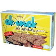 3 PACK of Ak-Mak Sesame Cracker -- 4.15 oz