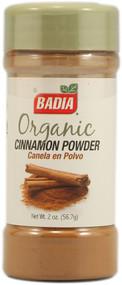 Badia, Organic Cinnamon Powder - 2 oz