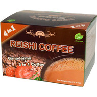3 PACK of Longreen Corporation, 4 in 1 Reishi Coffee, 10 Sachets, (18 g) Each