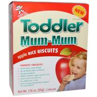 Hot Kid, Toddler Mum-Mum, Apple Rice Biscuits, 20 Biscuits, 1.76 oz (50 g)