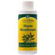 5 PACK of Organix South, TheraNeem Naturals, Neem Mouthwash, 2 fl oz (60 ml)