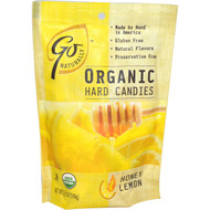 3 PACK of Go Organic, Organic Hard Candies, Honey Lemon, 3.5 oz (100 g)